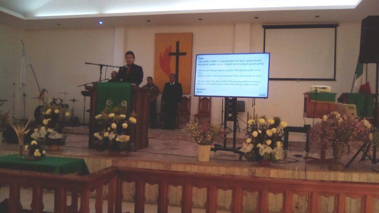 Cursos en la Conf. de Dtto. Suroriental, Col. san Baltazar. Puebla, Pue. Mex. 02/20